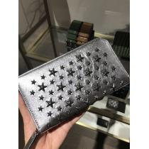 【JIMMY CHOO スーパーコピー 代引】CARNABY Metallic Nappa with STARS☆長財布 iwgoods.com:wk9imq