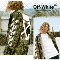 【OFF-White 激安スーパーコピー】Diag Camo Field Jacket (関税送料込) iwgoods.com:zqiicz
