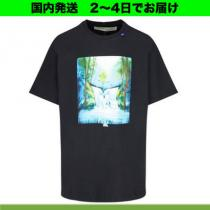 Off-White 激安スーパーコピー (オフホワイト スーパーコピー 代引) ★ Watercolour Waterfall  Tシャツ iwgoods.com:65fbip-1