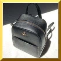 Vivienne WESTWOOD 偽ブランド☆SMALL RUCKSACK リュック BLACK【数量限定】 iwgoods.com:hge56b-1