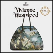 【新作SALE】Vivienne WESTWOOD スーパーコピー◆EUROPA 絵画ハンドバッグ iwgoods.com:hu5plg-1