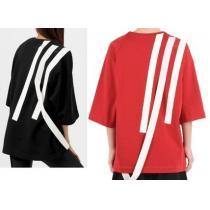 オーバーサイズ  Y-3 偽ブランド  Stripe Sweater 3ストライプトップ iwgoods.com:gl9fc9-1
