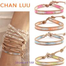 ★セール/即発★Chan LUU 激安コピー Single Wrap Bracelet on Beige...★ iwgoods.com:d8m4hg