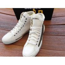 追跡有DIESEL 偽ブランド S-Dese MC High Top Sneakersレザースニーカー iwgoods.com:quqov0-1