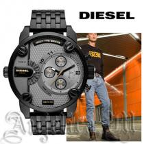 ★安心ヤマト便★DIESEL スーパーコピー Little Daddy Black IP Watch DZ7410 iwgoods.com:cf1698