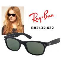 ★送・関込★RB2132 622 58mm black rubber NewWayfarer RAYBAN ブランドコピー iwgoods.com:zgwnsw-1