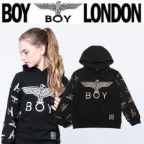BOY LONDON 激安スーパーコピー(ボーイロンドン ブランドコピー商品)☆Kids 袖ロゴパターンパーカー2色 iwgoods.com:1t20sj-1