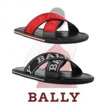 BALLY ブランドコピー通販 フロントロゴ サンダル メンズ 2色展開! SS2019 国内発送 iwgoods.com:cf25q4-1