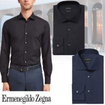 Ermenegildo Zegna コピー商品 通販 コンフォートトロフィーシャツ BLU UNIFORME iwgoods.com:1ypjl8-1