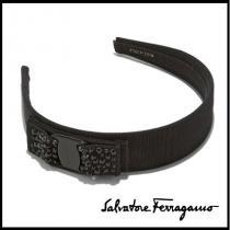 Salvatore FERRAGAMO 偽ブランド カチューシャ ☆ブラッククリスタル iwgoods.com:1f7km1-1