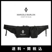■Marcelo Burlon ブランドコピー County of Milan 新作 ■ロゴ ベルトバッグ iwgoods.com:bg7lss-1