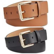 関税無★Michael Kors ブランド 偽物 通販★ Leather Logo Roller Buckle Belt iwgoods.com:s0unon