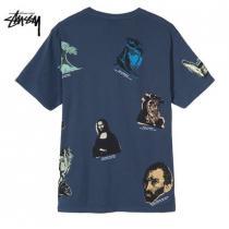 ★米国発/送関込*STUSSY 偽ブランド*新作*GALLERYアートワークTシャツ/N★ iwgoods.com:d2a3yg-1