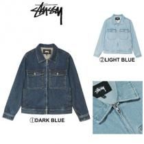 【STUSSY 偽物 ブランド 販売】☆2019-SS新作☆DENIM GARAGE JACKET iwgoods.com:r6jjuo
