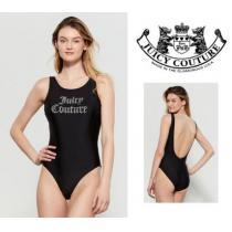 [関税・送料込]JUICY COUTURE 偽ブランド☆Black Logo One-Piece Swimsuit iwgoods.com:rq41me-1