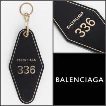 """【BALENCIAGA ブランド コピー """"Hotel Key 】""""レザーキーリング"""" 関税送料込み iwgoods.com:0b6dt4-1"""