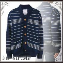 関税込◆striped long-sleeve cardigan iwgoods.com:ni1udz