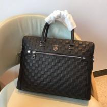 ルイ ヴィトン トートバッグ ダミエ 大人トレンド感あるコーデに最適 メンズ Louis Vuitton コピー ブラック 通勤通学 手頃価格 iwgoods.com iOHrKn-1