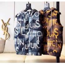 メンズ ダウンジャケット 2019秋冬着こなし方おすすめ ルイ ヴィトン おしゃれで機能性の高い LOUIS VUITTON オシャレな秋冬コーデスタイル 2色可選 iwgoods.com za4buy-1