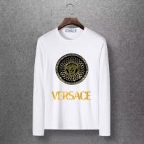 2019秋冬最重要アイテム ヴェルサーチ VERSACE 長袖Tシャツ 4色可選 おしゃれでおすすめ今季トレンド iwgoods.com b095fy-1
