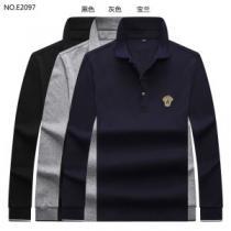 ヴェルサーチ VERSACE 長袖Tシャツ 3色可選 先取り 2019/2020秋冬ファッション 優しいのに存在感 iwgoods.com W5DOze-1