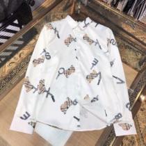 2020春夏モデルBURBERRY モノグラムモチーフ カジュアルシャツ サイズ 柔らかな風合い バーバリーコピー 高級生地 iwgoods.com OrG9ni-1