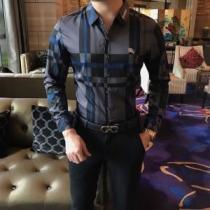 清潔感抜群BURBERRYチェック シャツ 2020春夏バーバリー スーパーコピー 高級ファッションリラックス感にシャツ iwgoods.com 0LTTrq-1