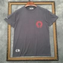 クロムハーツ CHROME HEARTS  シックで都会的な印象に仕上げる 半袖Tシャツ シンプルで柔らかなスタイル iwgoods.com O9f45j-1