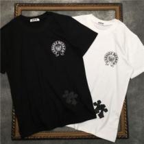 2色可選 春夏コーデにも取り入れやすい 半袖Tシャツ クロムハーツ オールシーズンの着こなし術 CHROME HEARTS iwgoods.com HT1veq-1