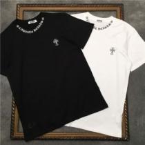 半袖Tシャツ 大人こそ似合う柄が魅力 2色可選 クロムハーツ 春夏ならではの軽やかさが楽しめる CHROME HEARTS iwgoods.com OLX5TD-1