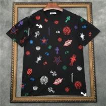 デイリースタイルを軽くなる  2色可選 半袖Tシャツ クロムハーツ 春夏の着こなし正解ポイント CHROME HEARTS iwgoods.com mymaWf-1