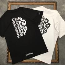 クロムハーツ CHROME HEARTS 2色可選 爽やかなデザインに挑戦半袖Tシャツ 甘すぎない大人の着こなしに iwgoods.com aG9Dmq-1