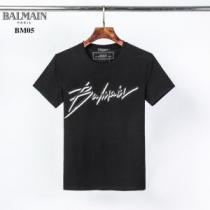 Balmain t-shirt with embroidered logoバルマン Tシャツ スーパーコピー 通販 快適な着心地2020トレンド人気新作 iwgoods.com 0jm0Di
