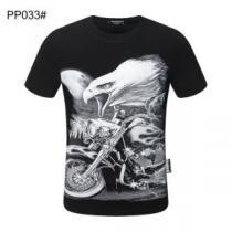 多色可選 シーンを選ばず使える  フィリッププレイン PHILIPP PLEIN セレブ愛用の超人気商品 半袖Tシャツ iwgoods.com fSraCe-1
