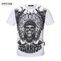 気品がある  多色可選 半袖Tシャツ 人気が再燃中 フィリッププレイン PHILIPP PLEIN 根強い人気を誇る iwgoods.com byKfqi-1