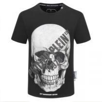 芸能人に愛用者続出  半袖Tシャツ 2色可選 新品で手に入れる フィリッププレイン PHILIPP PLEIN iwgoods.com rKXfem-1