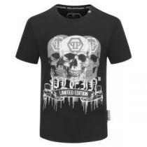 半袖Tシャツ 話題沸騰中のアイテム   フィリッププレイン 2色可選 2020最新決定版 PHILIPP PLEIN 今季注目の iwgoods.com WH9P9z-1