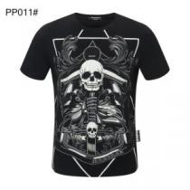 美しくデザイン性のある  半袖Tシャツ 多色可選 気になる2020年新作 フィリッププレイン PHILIPP PLEIN iwgoods.com yObmei-1