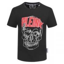 フィリッププレイン2色可選 低価格トレンド新品 PHILIPP PLEIN 幅広いシーンに活躍 半袖Tシャツ 2020春夏大活躍 iwgoods.com HnyCmq-1