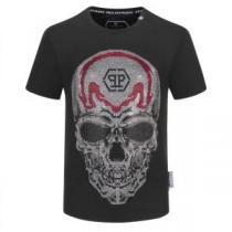 フィリッププレイン 2色可選 圧倒的な人気を集める PHILIPP PLEIN 絶大な革新性 半袖Tシャツ 快適な使用感 iwgoods.com iiOHzC-1