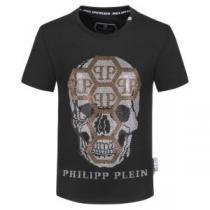高級感あるデザイン  半袖Tシャツ人気ブランドの新作プラス フィリッププレイン PHILIPP PLEIN 個性的なスタイル iwgoods.com DWDy0f-1