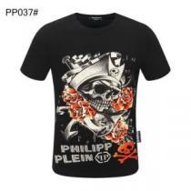 多色可選 早めのチェックを   フィリッププレイン PHILIPP PLEIN おすすめする人気ブランド 半袖Tシャツ iwgoods.com Tja0Hn-1