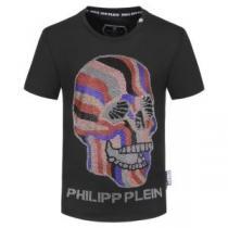芸能人愛用するアイテム  半袖Tシャツ あらゆるシーンで活躍 フィリッププレイン PHILIPP PLEIN iwgoods.com WHv0ju-1