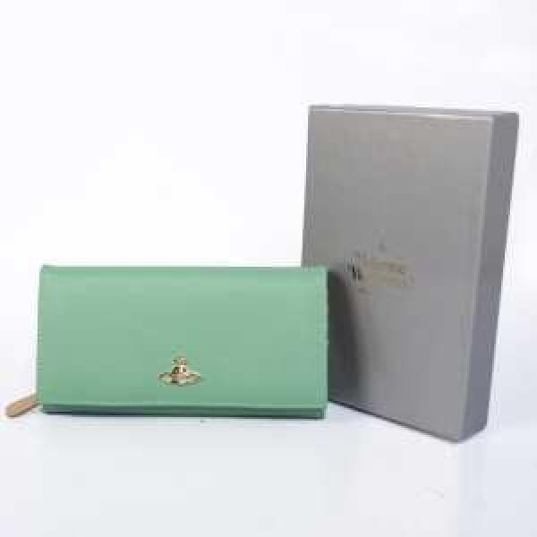 品のある綺麗な新作 VIVIENNE WESTWOOD 二つ折り小銭入れ 長財布 絶賛アクセサリー 財布