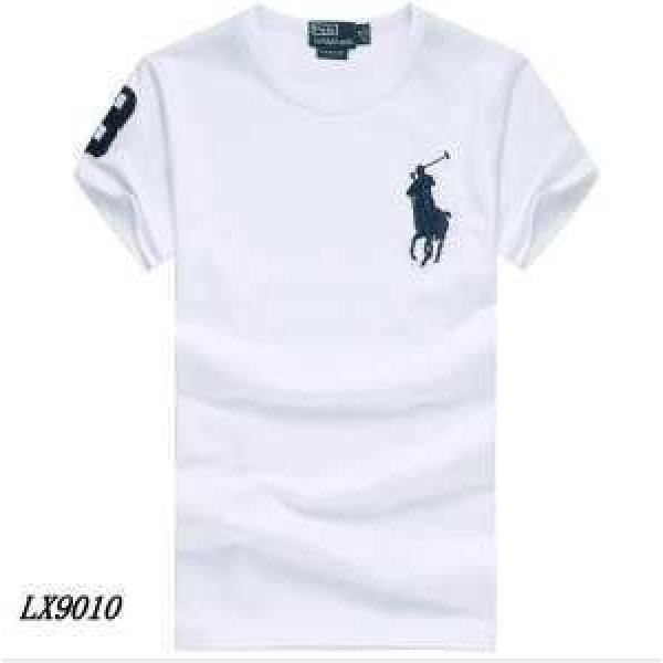 新着 Polo Ralph Lauren ポロ ラルフローレン 2019春夏 Uネック 半袖Tシャツ 8色可選