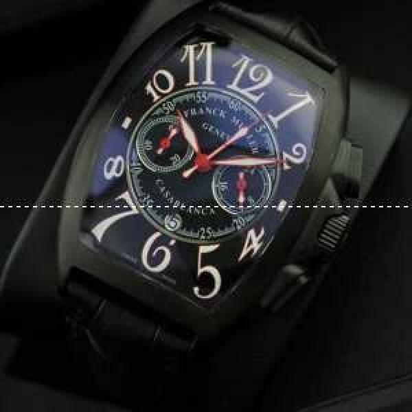 個性的なFRANCK MULLER フランクミュラー カジュアルなメンズ腕時計