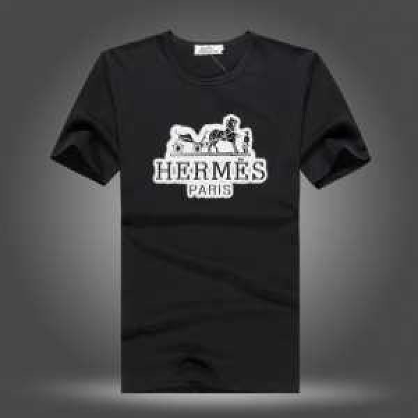 2018SALE開催 HERMES エルメス半袖 Tシャツ