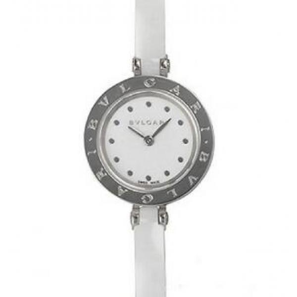 プレゼントでピッタリおすすめブルガリ 女性のお客様 BVLGARI BZ23WSCC.S  ビーゼロワン 洗練された腕時計 ウォッチ ホワイト