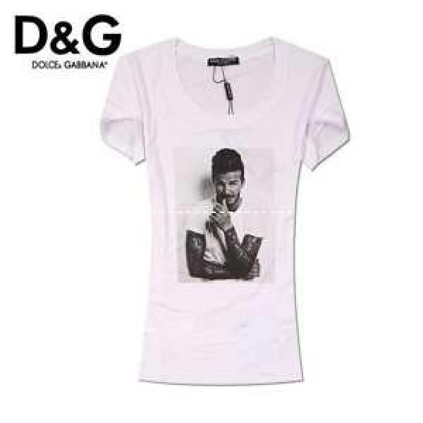 ブランド隠せない高きセンス力デザイン 新作  ドルチェ&ガッバーナ 半袖 Tシャツ