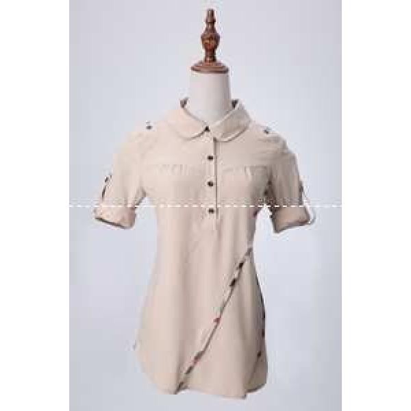 ブランド洗練された 春夏期間限定  バーバリー 女性のお客様長袖シャツ